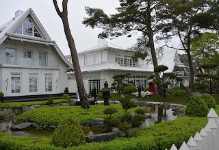 Asiatisches Häuserensemble