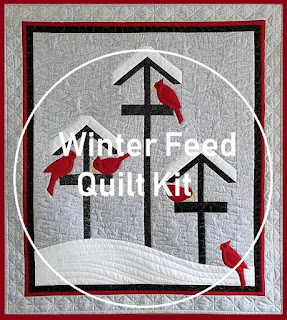 Winter-Bird-Feeder-Wall-Hanging-Art-Cardinals-Red-Grey-Modern