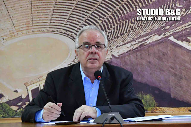 Ο Ε. Αποστόλου στο Ναύπλιο για την 3η συνεδρίαση της Επιτροπής Παρακολούθησης του Προγράμματος Αγροτικής Ανάπτυξης 2014-2020