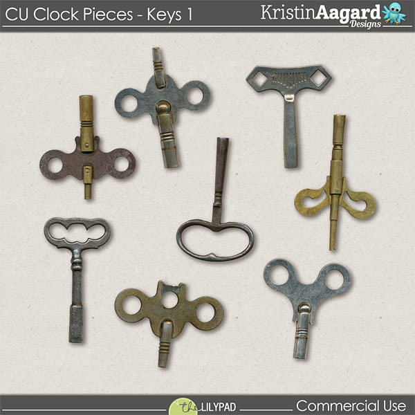 http://the-lilypad.com/store/Digital-Scrapbook-Design-Tools-CU-ClockPieces-Keys-1.html