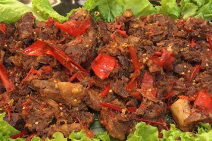 Resep Memasak Daging Sapi Balado Kuno