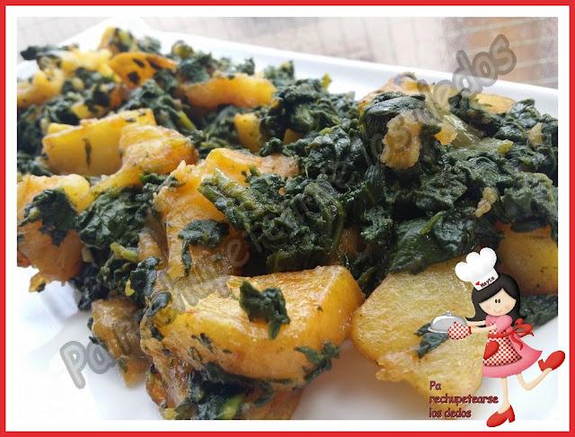 *espinacas Rehogadas Con Patatas (olla Gm-e, Tradicional)
