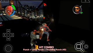 spiderman 2 psp iso android ukuran kecil