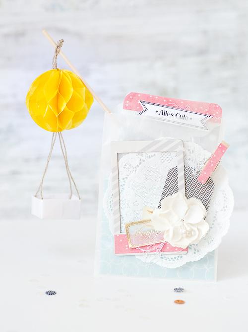 mojosanti zuschuss zur ballonfahrt i geburtstagsgeschenk mit karte und kleinem ballon i. Black Bedroom Furniture Sets. Home Design Ideas
