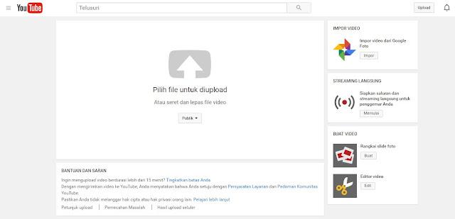 Upload video Windows Movie Maker ke Youtube