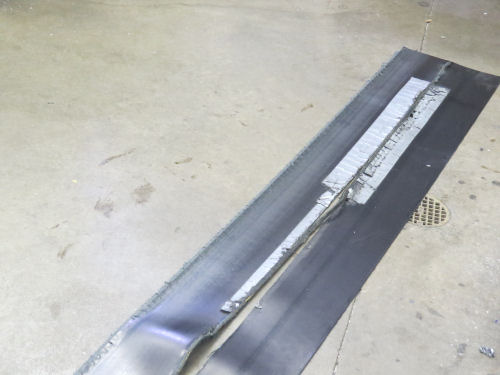 split conveyor belt
