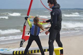 LSURF 8-letnia Ola na morzu