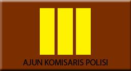 Lambang pangkat AKP (Ajun Komisaris Polisi)