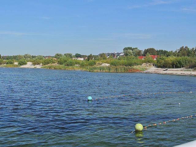 widok na Zatokę Pucką z mola w Jastarni