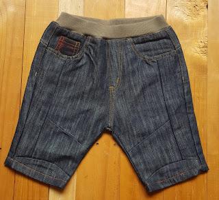 Short Jean/kaki lưng thun bé trai, Apple, chất jean và kaki mềm, mặc thoải mái, sz cho bé từ 18 - 24 ký.