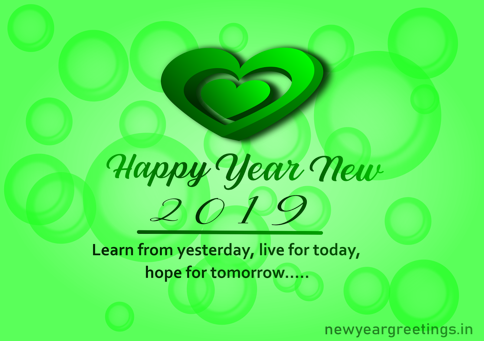 new year card messages 2019