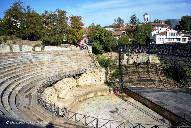 Antiguo Teatro de Ohrid - Macedonia por El Guisante Verde Project