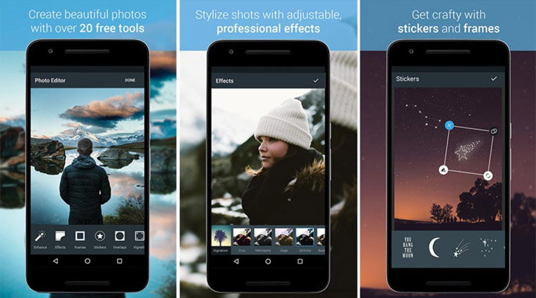 Best and top apps photo editor for Android