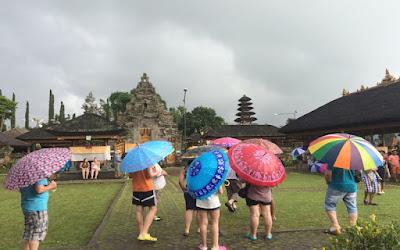 rombongan saat di Bali