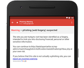 Anti-phishing for gmail