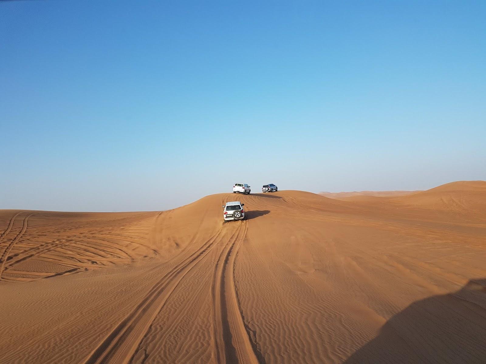 best desert safari in abu dhabi