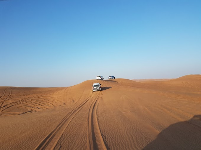 The desert safari sand dune bashing experience - an event that you willforever remember!