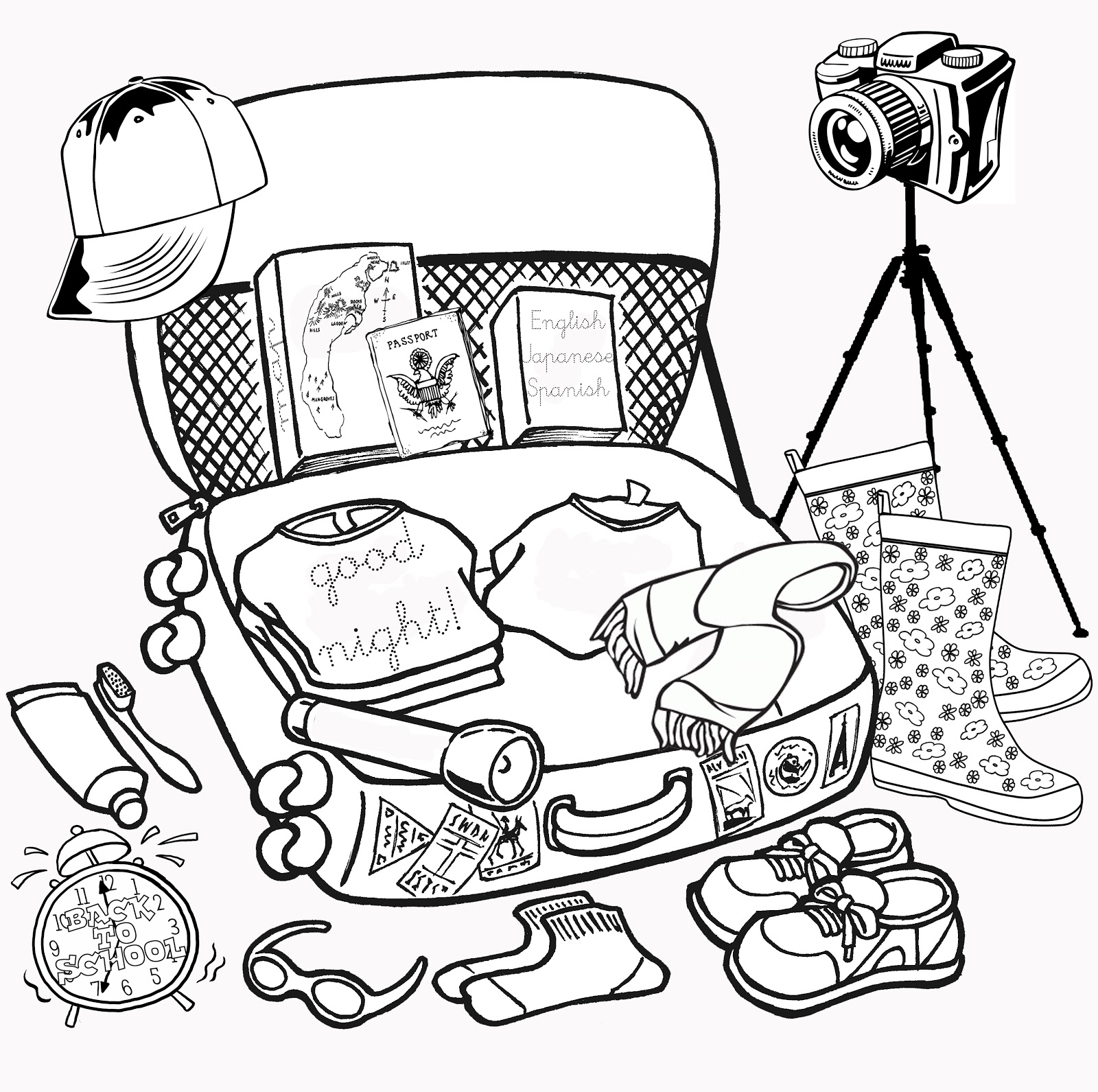 Abraham And Lot Coloring Pages Sketch Coloring Page