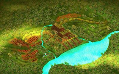 Unearthed Gunung Padang Pyramid