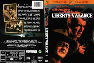 Carátula: El hombre que mató a Liberty Valance (1962) The Man Who Shot Liberty Valance