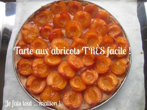 Tarte aux abricots très facile