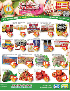 Ajax Foodmart Flyer May 11 - 17, 2018