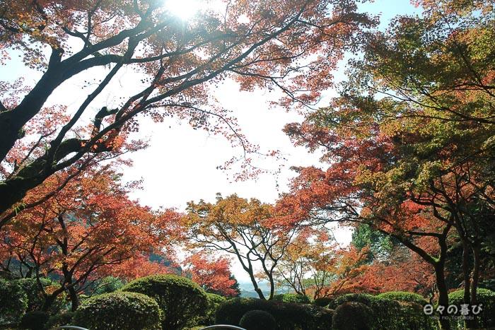 Panorama depuis le pavillon de thé, Kunenan, Kanzaki, Saga
