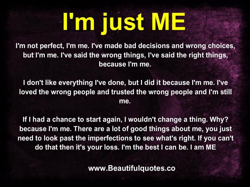Im Just Doing Me Quotes. QuotesGram