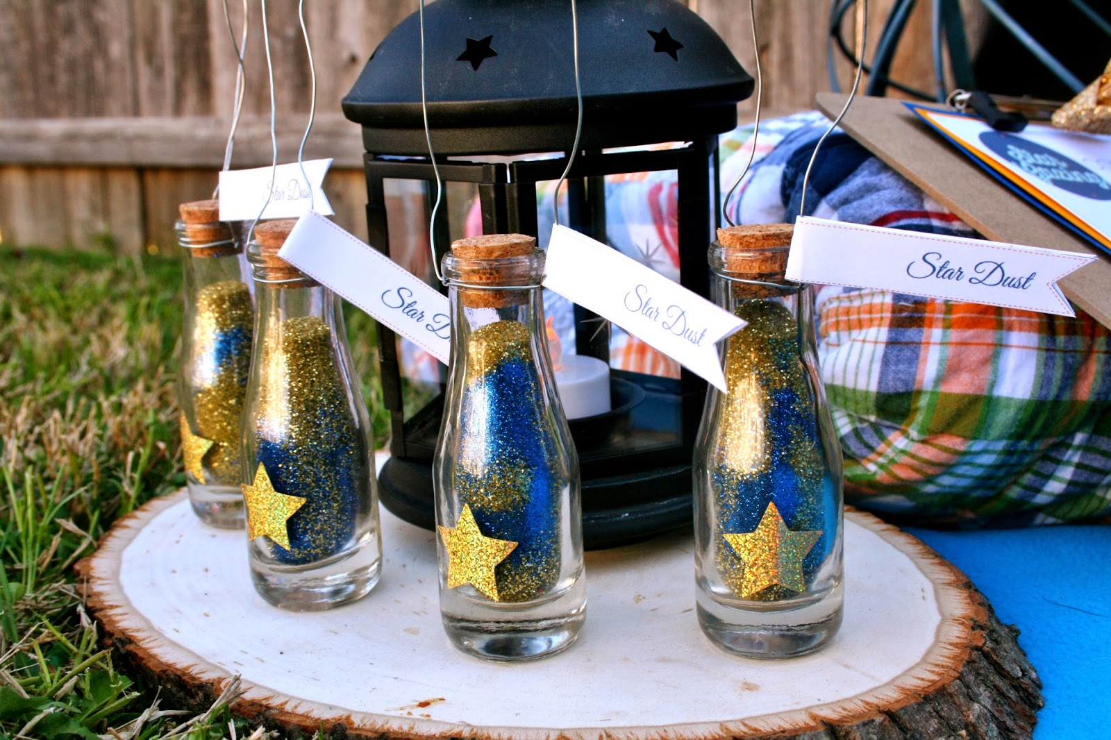 my life homemade: Backyard Star Gazing Party