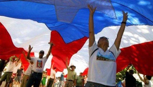 Puertorriqueños se movilizan por la independencia de la isla
