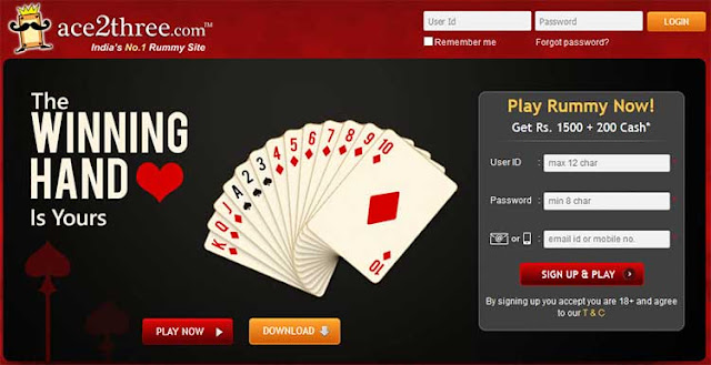 India's No. 1 Rummy Site Ace2Three Launches New Ad Campaign! : EaSKME