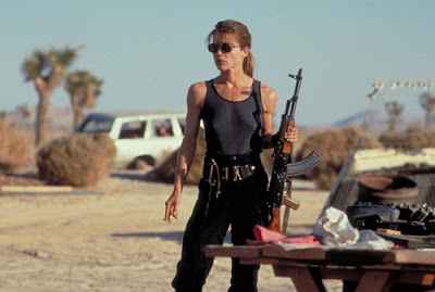 Linda Hamilton Sarah Connor female warrior Terminator 2 Judgment Day