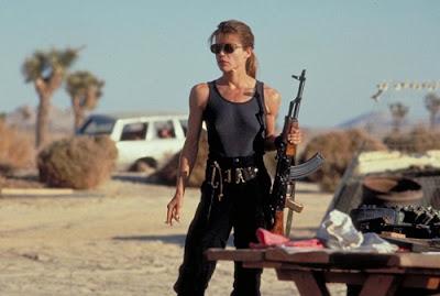 Linda Hamilton Sarah Connor female warrior Terminator 2 Judgment Day