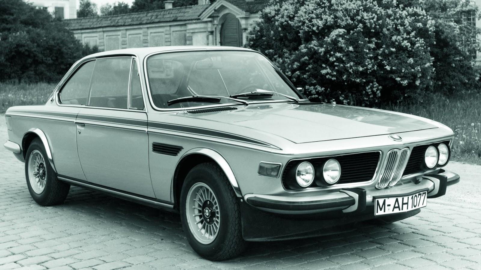 1972 BMW 3.0 lít CSL