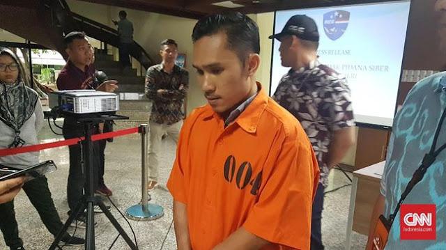 Tersangka Pengunggah Konten PKI Enggan Minta Maaf ke Jokowi