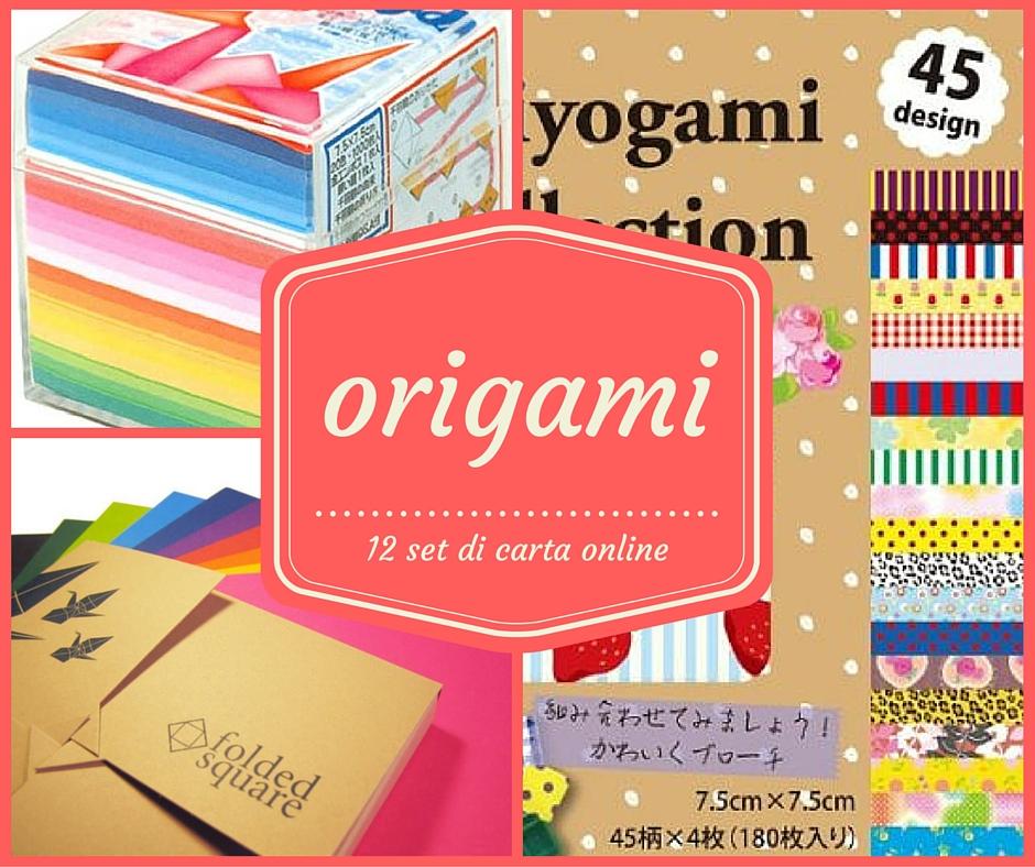 origami dove trovare la carta giusta creare con la carta