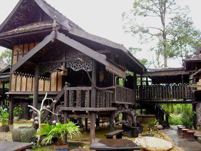 Rumahrumah Tradisional di Semenanjung Malaysia  Anjung Laman