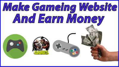 Video Game Website,Make Money