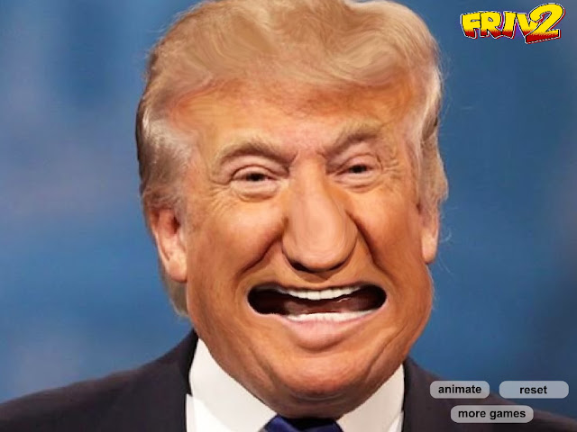 funny Donald Trump face