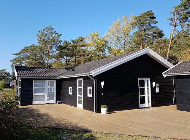 Bornholm mit Kindern im Herbst. Teil 2: Ankommen auf der Sonneninsel des Nordens. Unser Ferienhaus in Sömarken war hervorragend.