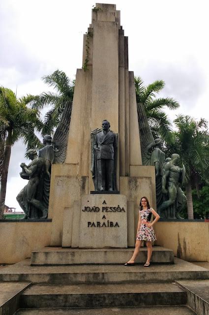 Monumento da Praça João Pessoa.