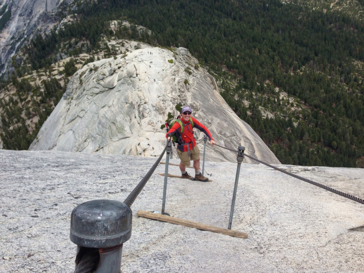 The Saratoga Skier And Hiker Half Dome Yosemite Nat L