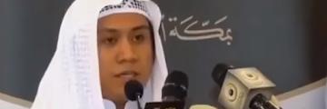 Pemuda Indonesia Menjadi Imam Masjid Di Makah