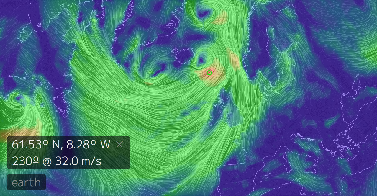 Geogarage Blog Real Time World Winds Animated Map