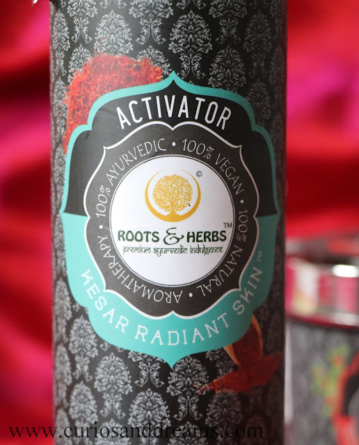 Roots & Herbs Kesar Radiant Skin Activator