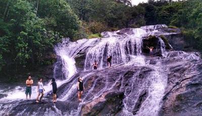 Air Terjun 7 Tingkat Di Toraja, Sarambu Marintang