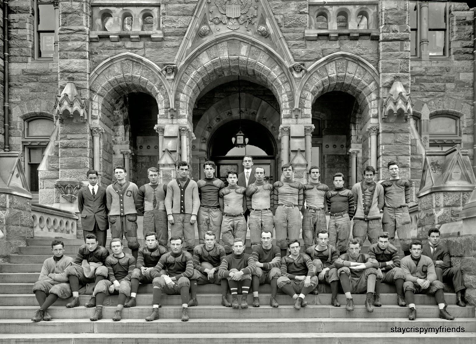 Georgetown University Football Team 1910 - StayCrispyMyFriends