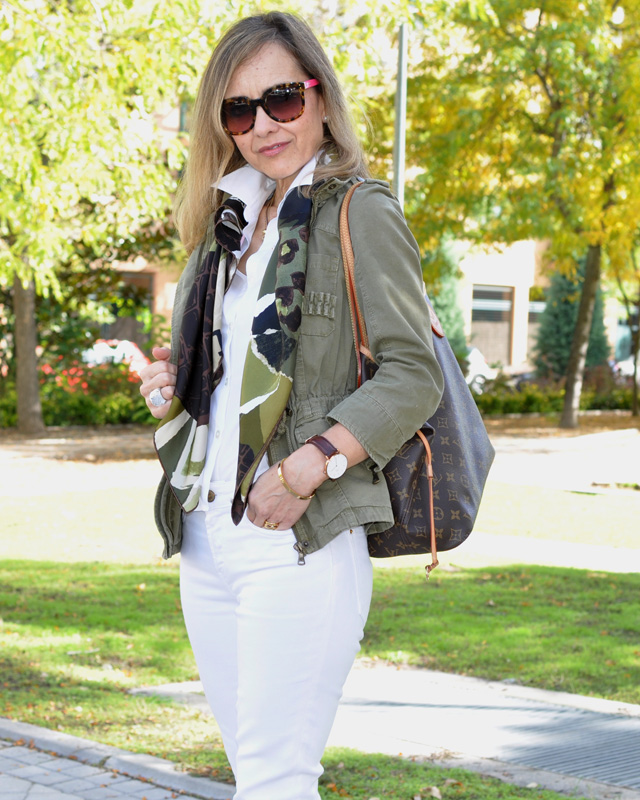 Military Jacket Zara  Sudio Sweden www.myladytrends.com