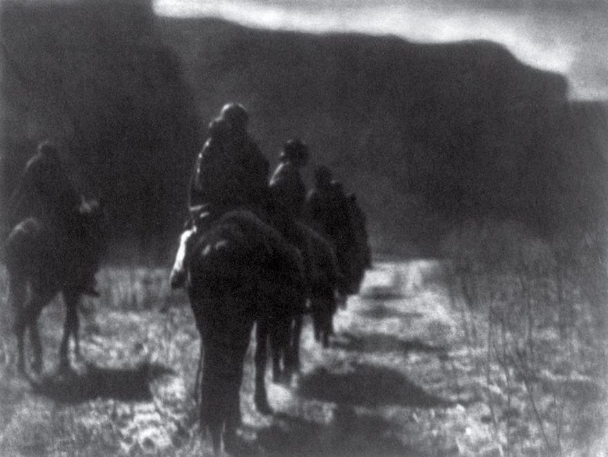 #52 The Vanishing Race, Edward S. Curtis, 1904 - Top 100 Of The Most Influential Photos Of All Time
