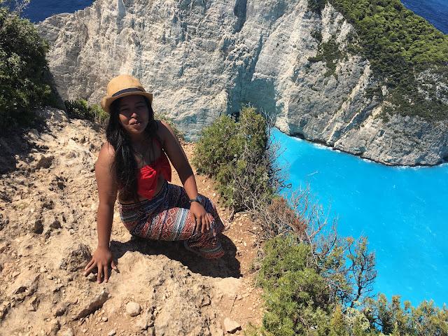 Zatoka wraka - Zakynthos Grecja 2018 poszukujac raju